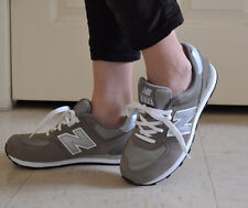NEW IN BOX! YOUTH NEW BALANCE NB 574 GREY CLASSIC CASUAL SHOES KL574GSG 4Y-7Y