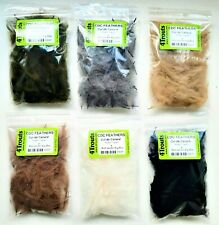 PREMIUM CDC FEATHERS FREE SHIPPING Fly Tying Duck Feathers Lot of 3 5 or 9 color