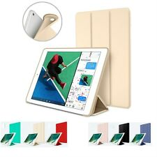Smart Cover Case Soft Silicone Magnetic Stand Sleep / Wake For Apple iPad 9.7