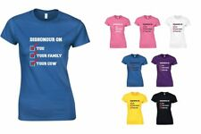 Dishonour On Your Cown, Ladies Printed T-Shirt