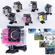 HD 1080P Action Sports Waterpoof Dash Cam Bike Helmet DV Video Recorder Camera