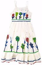GIRLS GORGEOUS CUTEY COUTURE  FLOWER COTTON DRESS 2 TO 8 YEARS