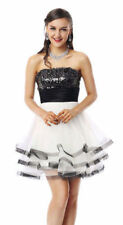 2017 Sequin Empire Waist Short Prom Homecoming Cocktail Dance Party Dresses