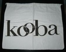 """Authentic KOOBA STORAGE DUST BAG WHITE DRAWSTRING COVER TRAVEL 22"""" Stor Sweaters"""