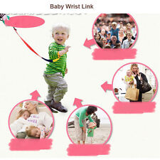 Baby Child Anti Lost Safety Wrist Link Toddler Harness Leash Strap Adjustable !