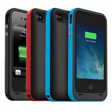 2000mAh External Bumper Back Power Bank Pack Battery Charger Case For iPhone4 4s