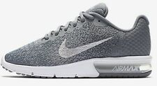 Nike AIR MAX SEQUENT-2 WOMEN'S RUNNING SHOE Grey/Silver-Size US 5, 5.5, 7.5 Or 8