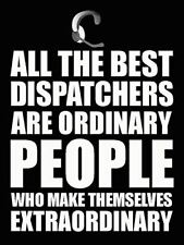 Police Dispatcher Poster 911 Call Center Poster