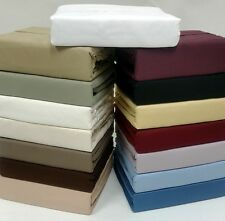 """100% Egyptian Cotton 1000 Thread Count Sheets - 16"""" King Size Sheet Set"""