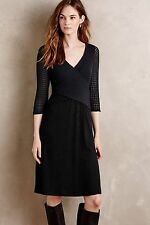 NIP Anthropologie Fara Surplice Dress by Amadi Sz M Petite L $148