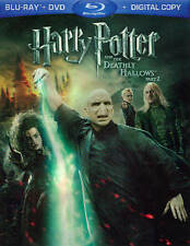 Harry Potter and the Deathly Hallows: Part II (Blu-ray/DVD, 2011, 3-Disc Set