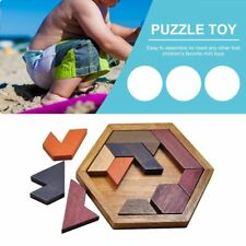 Kids Puzzles Wooden Toys Jigsaw Board Wood Geometric Children Educational Toy EW