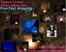 Romantic 3Star light LED Starry Night Sky Projector Lamp Cosmos Master Kids Gift
