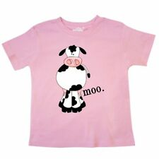 Inktastic Cow-moo. Toddler T-Shirt Cow Moo Farm Animal Tees. Gift Child Kid