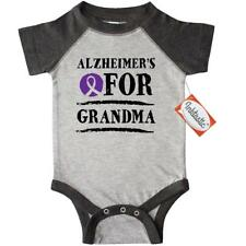 Inktastic Alzheimers Awareness Ribbon For Grandma Infant Creeper Disease Support