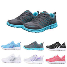 Women Ladies Casual Sports Running Shoes Breathable Lace Up Sneakers Trainers