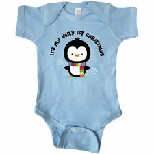 Inktastic My Very 1st Christmas Penguin Infant Creeper Babys First Holiday Baby