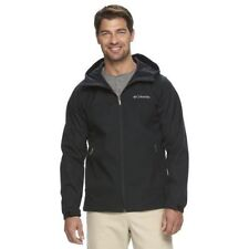 Columbia mens Lucky Find hooded softshell jacket Black M L XXL