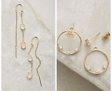 Anthropologie Earrings, Surrealist Threader OR Adorned Front-Back Ear Jackets