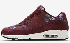 Nike AIR MAX 90 SE WOMEN'S SHOE Team Red/Night Maroon/Sail-Size US 11,11.5 Or 12