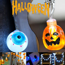 2M 20LEDs Halloween Pumpkin Eyeball String Lights Party Skull AA Battery Lamps