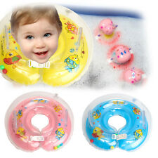 Inflatable Baby Newborn Infant Neck Float Ring Bath Safe STOCK Swimming Rings