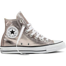 Converse Chuck Taylor All Star Hi Rose Quartz Textile Trainers Shoes