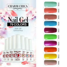 CHARM CHICA Soak Off Nail Gel Polish UV&LED Nail Art Manicure 79 Color Varnish