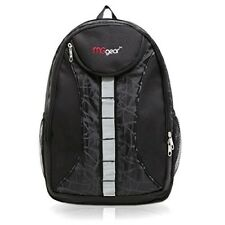 Student School Backpack Bag Padded Back Adjustable Straps Daypack Bookbag Black