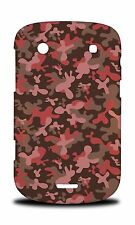 PINK CAMO CAMOUFLAGE PATTERN 2 HARD CASE COVER FOR BLACKBERRY BOLD TOUCH 9900