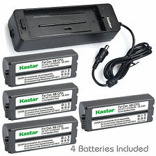 Kastar Battery Charger Canon NBCP2L NBCP1L NB-CP1L NB-CP2L CP510 CP-510 CP-800