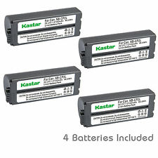 Kastar Battery Charger Canon SELPHY CP910 CP-100 CP-200 CP-220 CP-300 CP-330