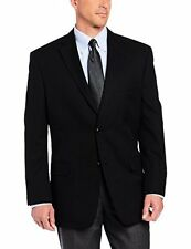 Haggar Mens Striped Two-Button Center-Vent Suit-Separate Jacket