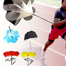 "Speed running power Chute resistance exercise training parachute New 56"" Sports"