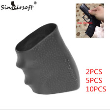 Tactical Rubber Grip Holster Glove Anti Slip for Glock Series Airsoft Hunting