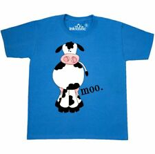 Inktastic Cow-moo. Youth T-Shirt Cow Moo Farm Animal Tee Kids Children Child