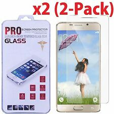 2x Premium Real Tempered Glass Screen Protector Guard for Samsung Galaxy Note 5