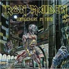 IRON MAIDEN SOMEWHERE IN TIME CD NEW