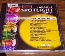 Sound Choice Karaoke CDG's Country Hits Misc Vol's New Unopened