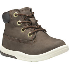 Timberland Toddle Tracks 6 Inch Dark Brown Nubuck Infant Ankle Boots