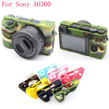 Flexible Silicone Camera Case Protective Cover Skin For Sony A6300 Camera Bag