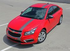 2015-2016 E-RALLY : Euro Racing Stripes Vinyl Graphics Decals 3M for Chevy Cruze