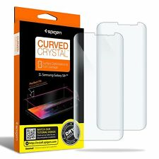 Spigen Curved Crystal 2Pack Film For Samsung Galaxy S8 S8+ Plus Screen Protector