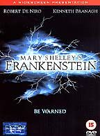 Mary Shelley's Frankenstein [DVD] [1994] New Sealed UK Region 2 - Robert De Niro