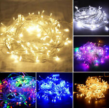 20/30/100/500 LED Battery Power String Fairy Lights Christmas Party Home Outdoor