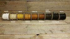 """Deerskin Deer Leather Lace Spool Roll 1/8"""" x 50 FT Lacing Cord String Craft"""