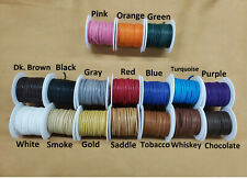 """Deerskin Deer Leather Lace Spool Roll 1/8"""" x 50 FT Lacing Cord String Craft F-2"""