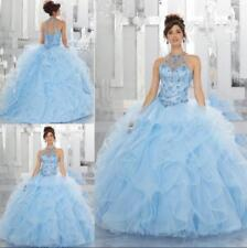 New Quinceanera Dress Party Evening Wedding Gown Custom Ball Formal Prom Pageant