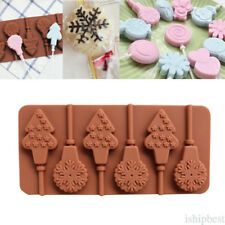 Dinosaur Eggs Rabbit Lollipop Silicone Mold For Candy Chocolate With Sticks
