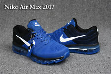 NWT NIKE AIR MAX 2017 MEN'S Running Shoes Sneakers Treasure blue black Athletic!